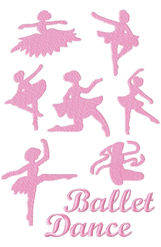 Dance Clipart Pink Ballerina Product