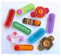 Basic Alligator Clip Covers Felt Stitchies