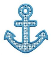 Anchor Motif Applique