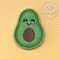 Avocado Felt Stitchies