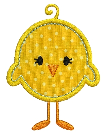 Baby Chick Applique