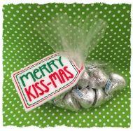 Merry Kissmas Treat Bag Topper