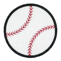 Baseball Applique