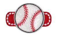 Baseball Felt Stitchies