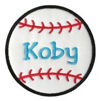Baseball Two Applique