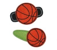 Basketball Felt Stitchies
