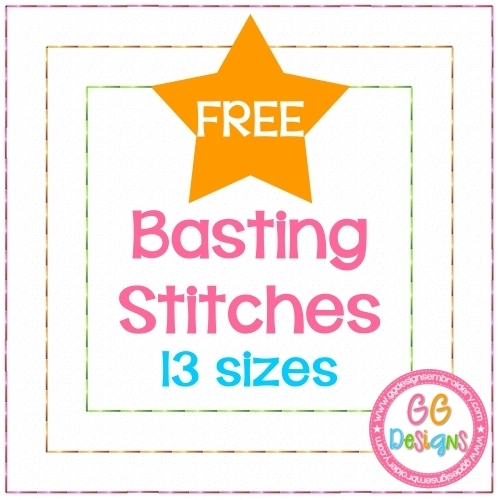 FREE Basting Stitches