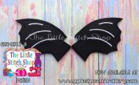 Bat Wings Oversized Bow Parts Feltie