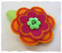Stitch n Stack Flower Felt Stitchies