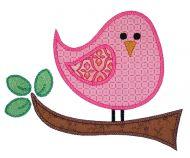 Birdie Two Applique