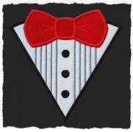 Bow Tie / Tuxedo Applique