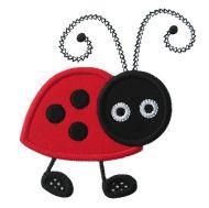 Buggy Ladybug Applique