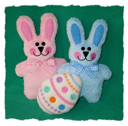 Snuggle Bunny softie