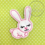 Big Eared Bunny Felt Stitchies