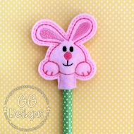 Chubby Bunny Pencil Topper