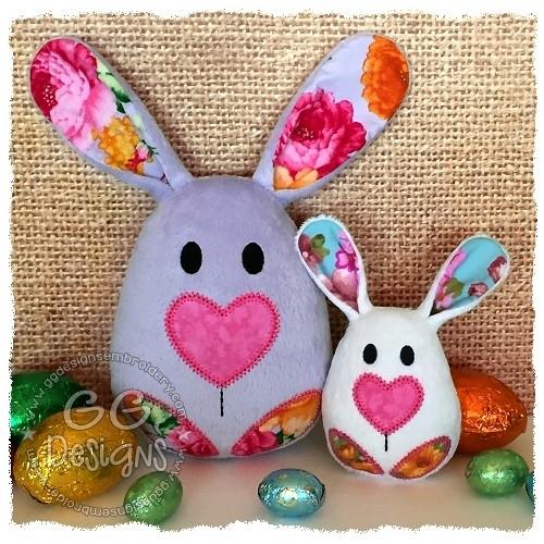Bunny Egg Softie