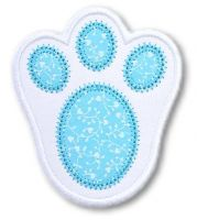 Bunny Foot Applique