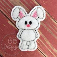 Standing Bunny Felt Stitchies