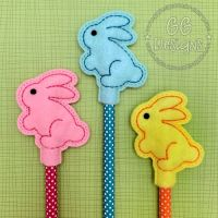 Sweet Bunny Pencil Topper