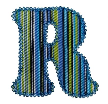 Cooper Applique Alphabet