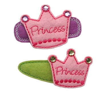 Princess Crown Felt Stitchies