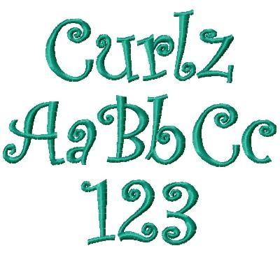 Curlz Font