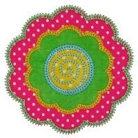 Double Flower Applique