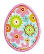 FREE Easter Egg Applique