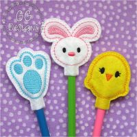 Easter Pencil Toppers