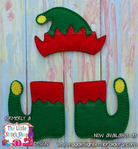 Elf Set Oversized Bow Parts Feltie