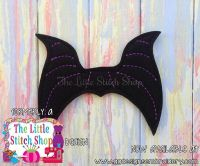 Evil Queen Horns Oversized Bow Parts Feltie