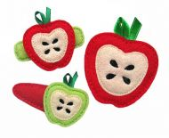 Apple Felt Stitchies