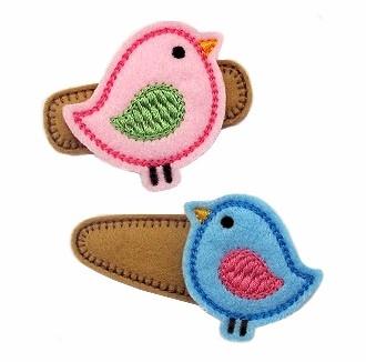 Birdie Felt Stitchies