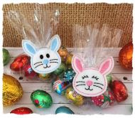Bunny Treat Bag Topper