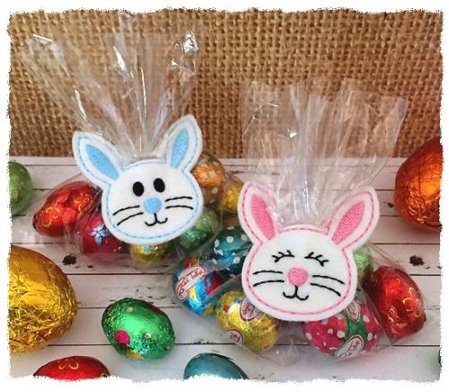 Bunny Treat Bag Topper