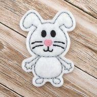 Bunny Buddy Felt Stitchies