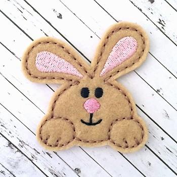 Chubby Bunny Felt Stitchies