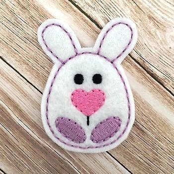 Bunny Egg Felt Stitchies