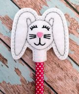 Floppy Bunny Pencil Topper