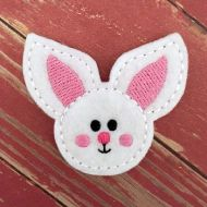 Bunny Head Felt Stitchies