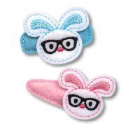 Nerd Bunny Felt Stitchies