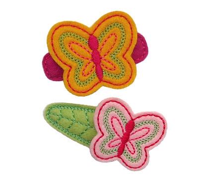 Butterfly Felt Stitchies