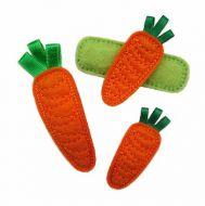 Carrot Felt Stitchies