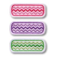 Chevron Clip Cover Felt Stitchies