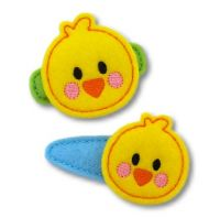 Chubby Chicken Felt Stitchies