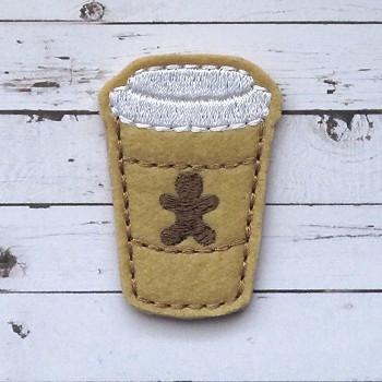 Gingerbread Coffee Felt Stitchies