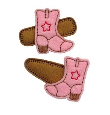 Cowboy Boot Felt Stitchies
