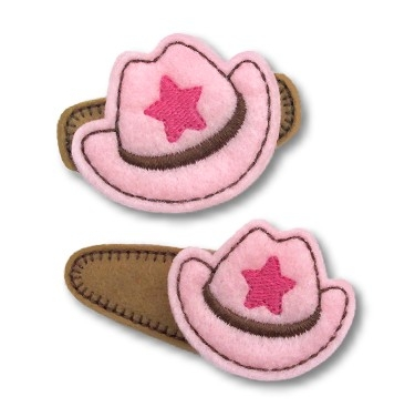 Cowboy Hat Felt Stitchies