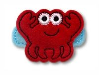 Crab Felt Stitchies
