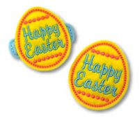 Happy Easter Egg Felt Stitchies
